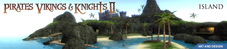Pirates Vikings and Knights 2 - Island